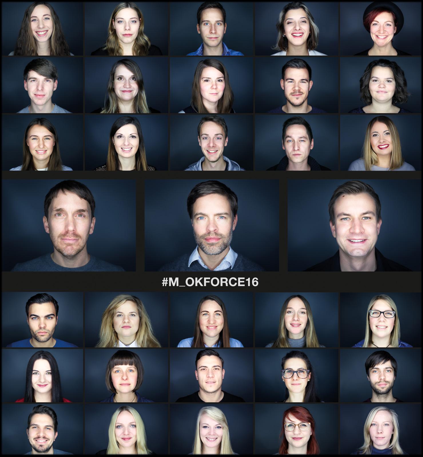 Headshot Image of all Master Online Communication Students
