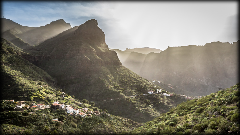 Shining Landscape at Masca, Tenerife