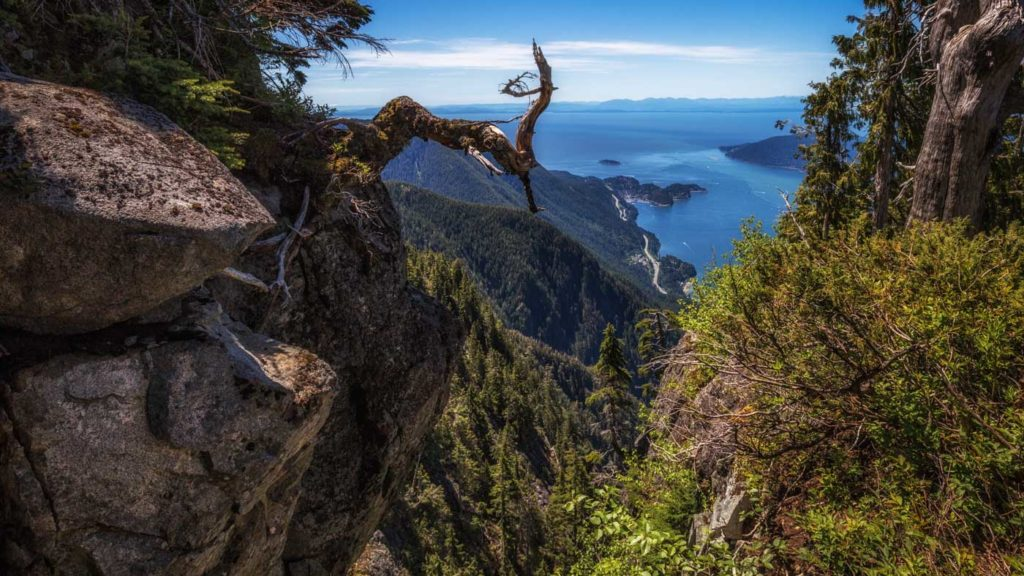 Landscape Photo Spots in British Columbia: View from Cypress Mountain