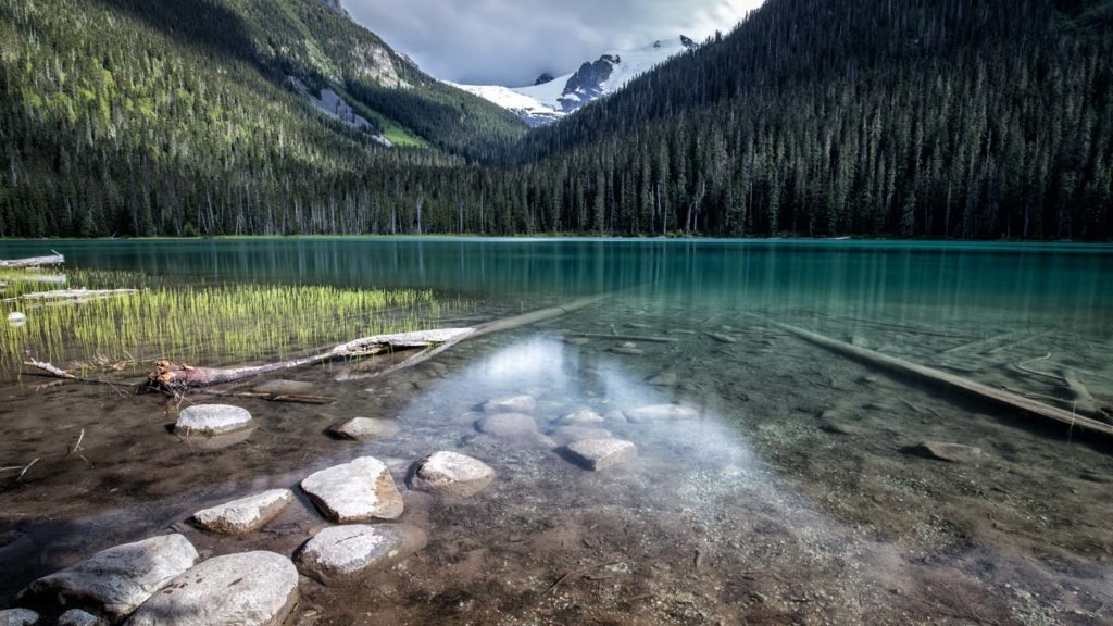 Impressive Location at the Lower Joffre Lake