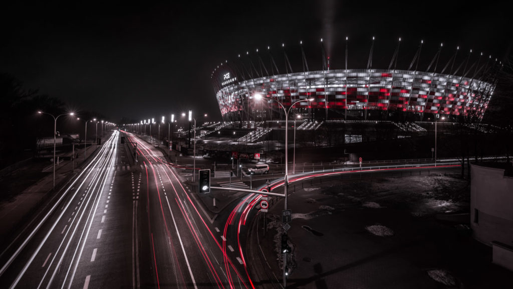City Photography in Warsaw: National Stadium PGE Narodowy