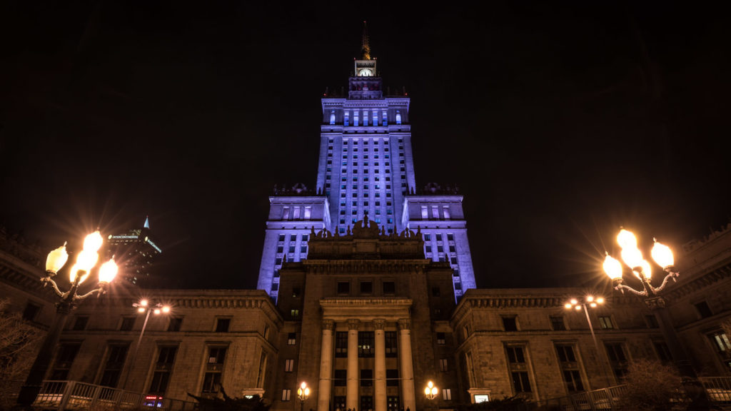 Architecture in the city centre: The Palace of Culture