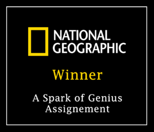 Awarded by National Geographic: Lukas Petereit