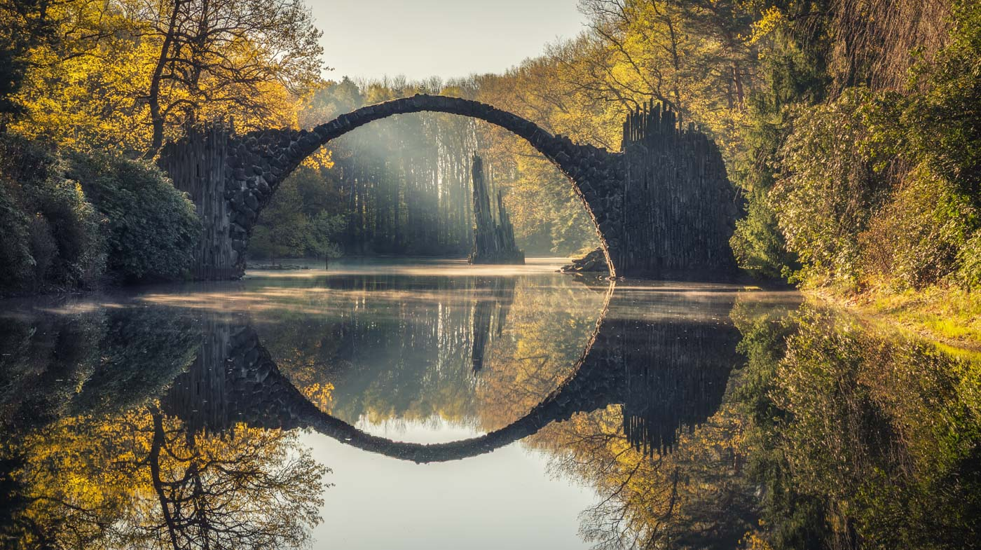 Rakotzbrücke – Landscape Photography in East Germany