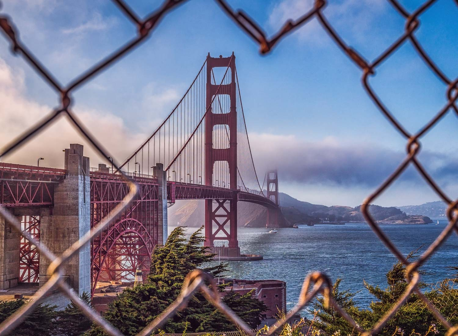 Golden Gate Bridge - San Francisco, USA - City Photography