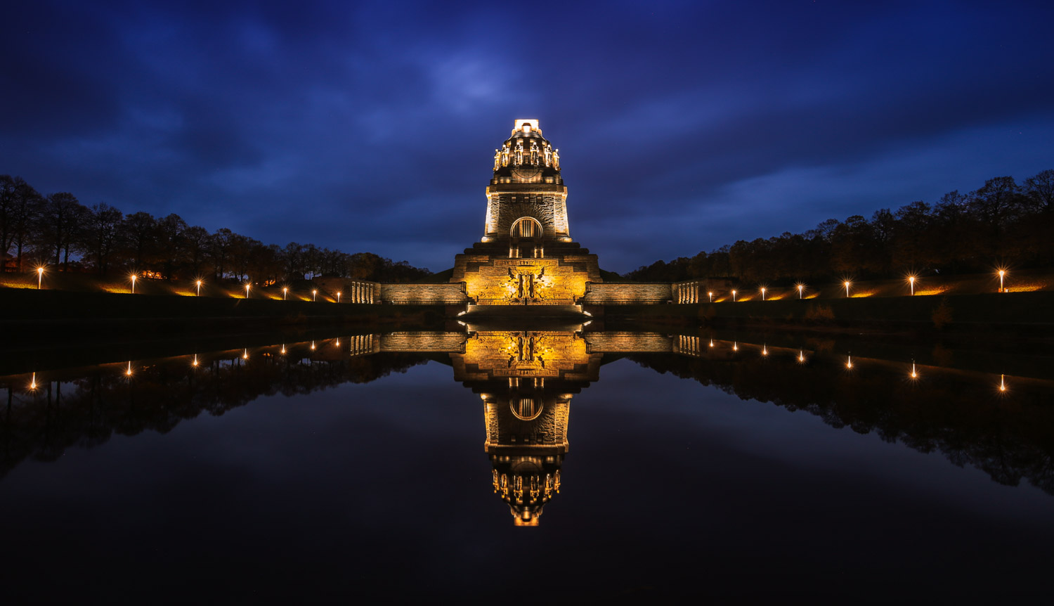 Monument of the Battle of the Nations in Leipzig.