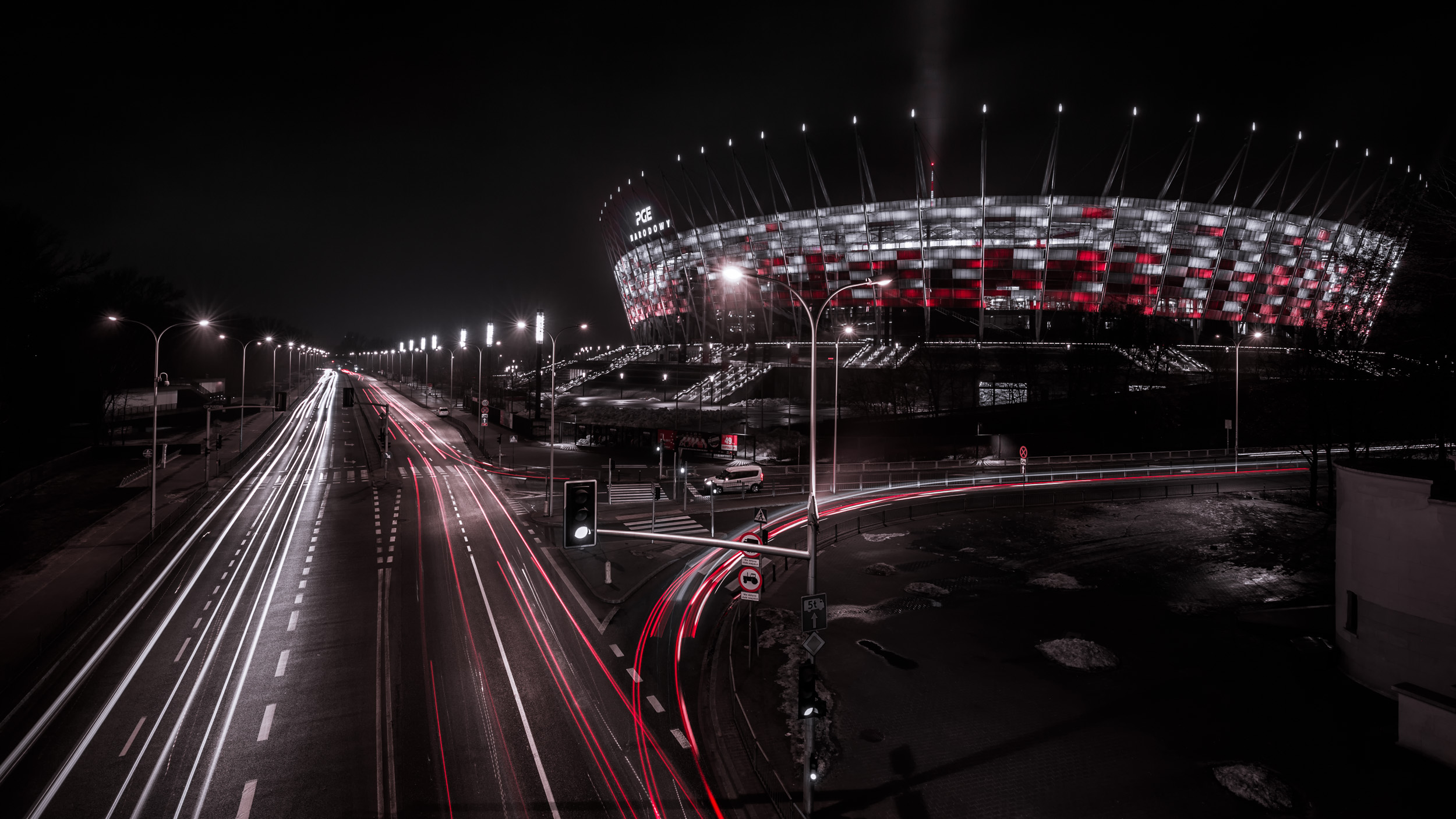 PGE Narodowy - National Stadium of Warsaw, Poland - Architecture & City Photography