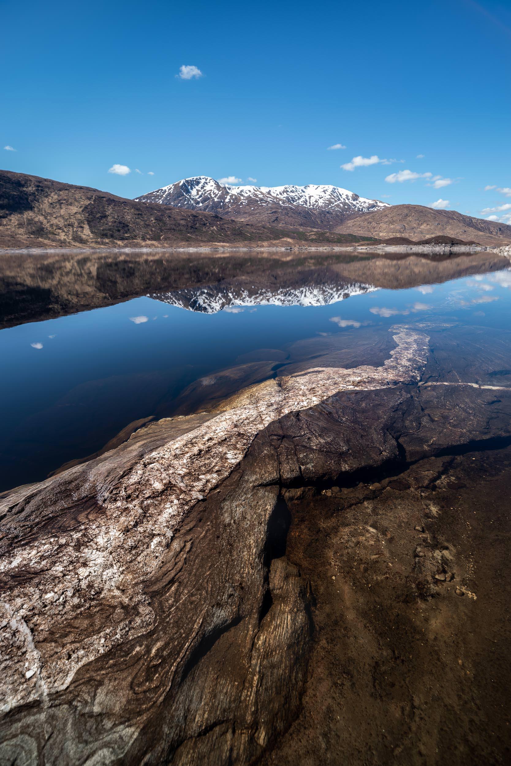 Loch Cluanie - Highlands, Scotland