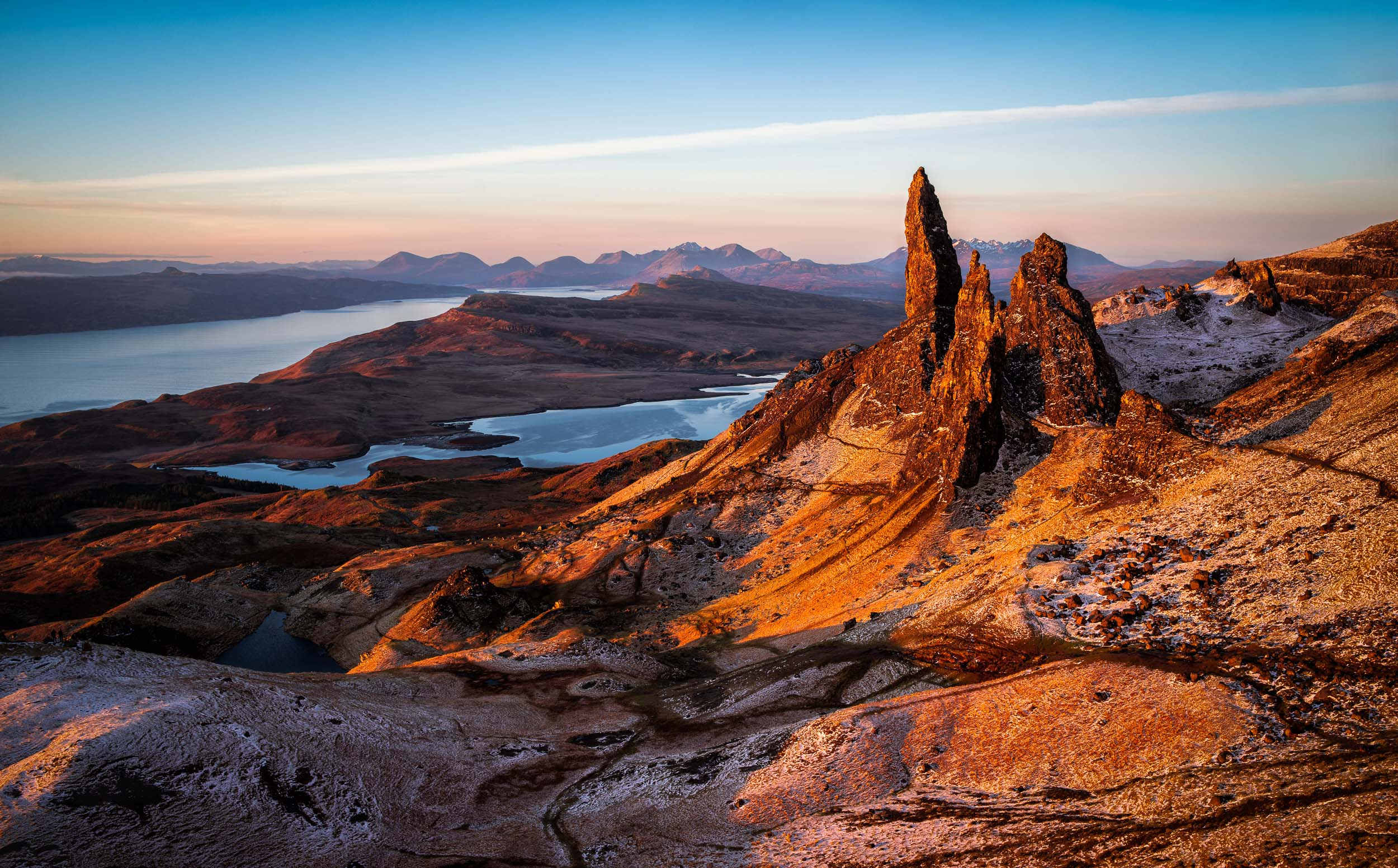 Sunrise at the Old Man of Stor - Isle of Skye, Scotland