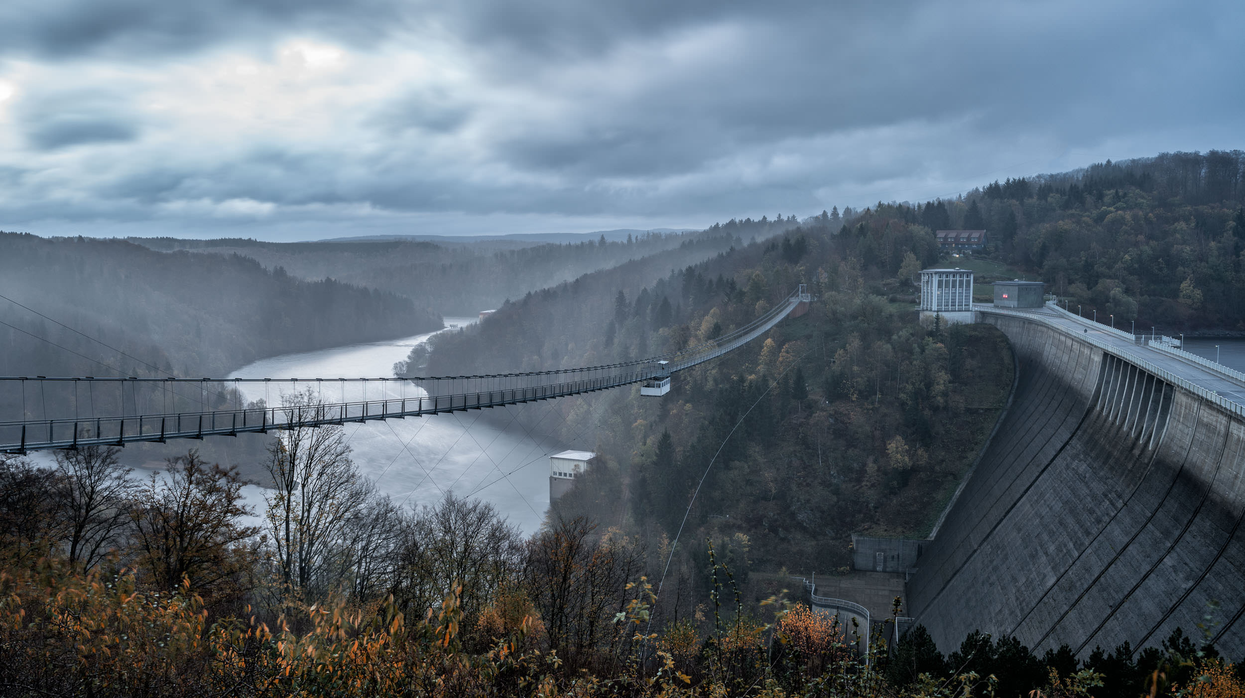 Suspension Bridge - Rappbodetalsperre, Harz