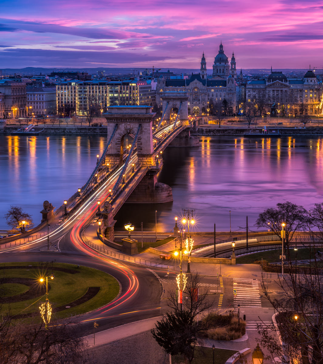 City Photography: Sunrise over Budapest
