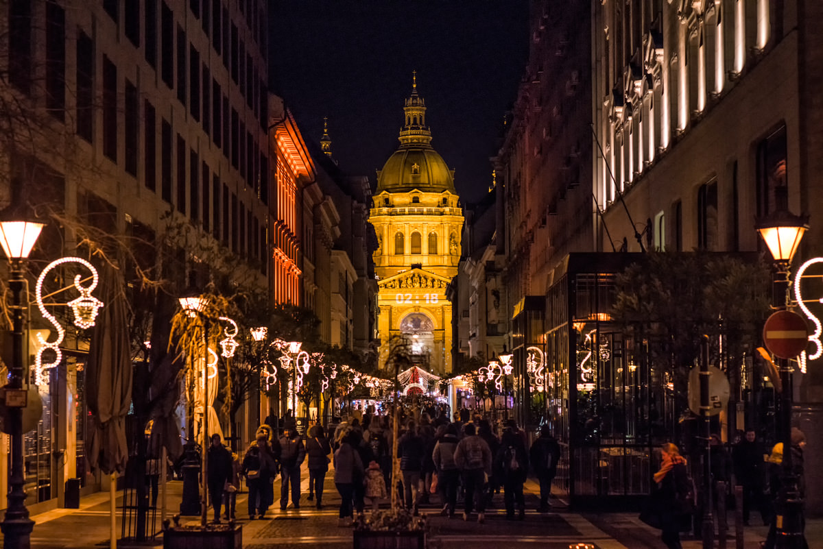 The Christmas Market, one of the places you have to see in Budapest: