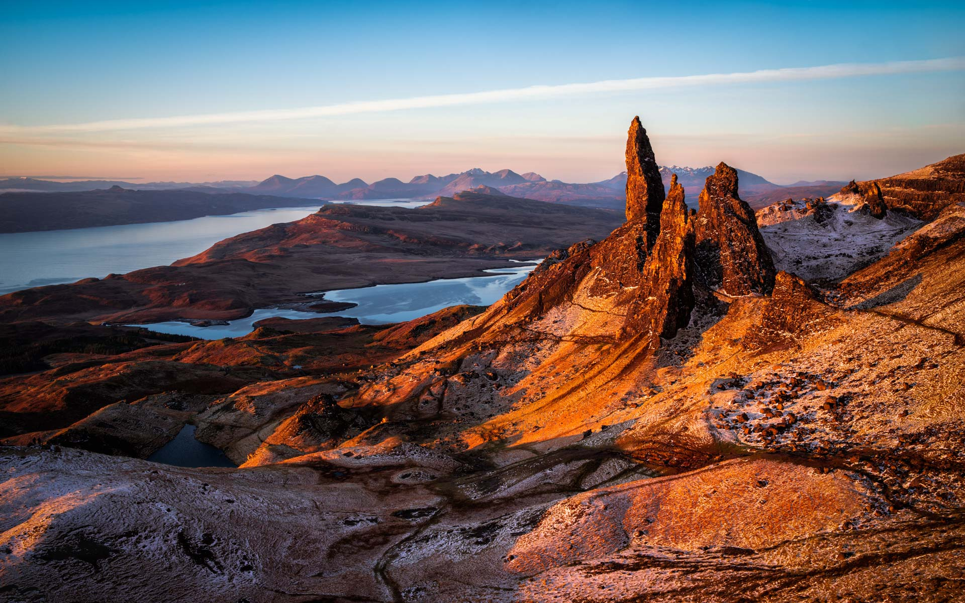 Sunrise at the Old Man of Storr - Isle of Skye Photography
