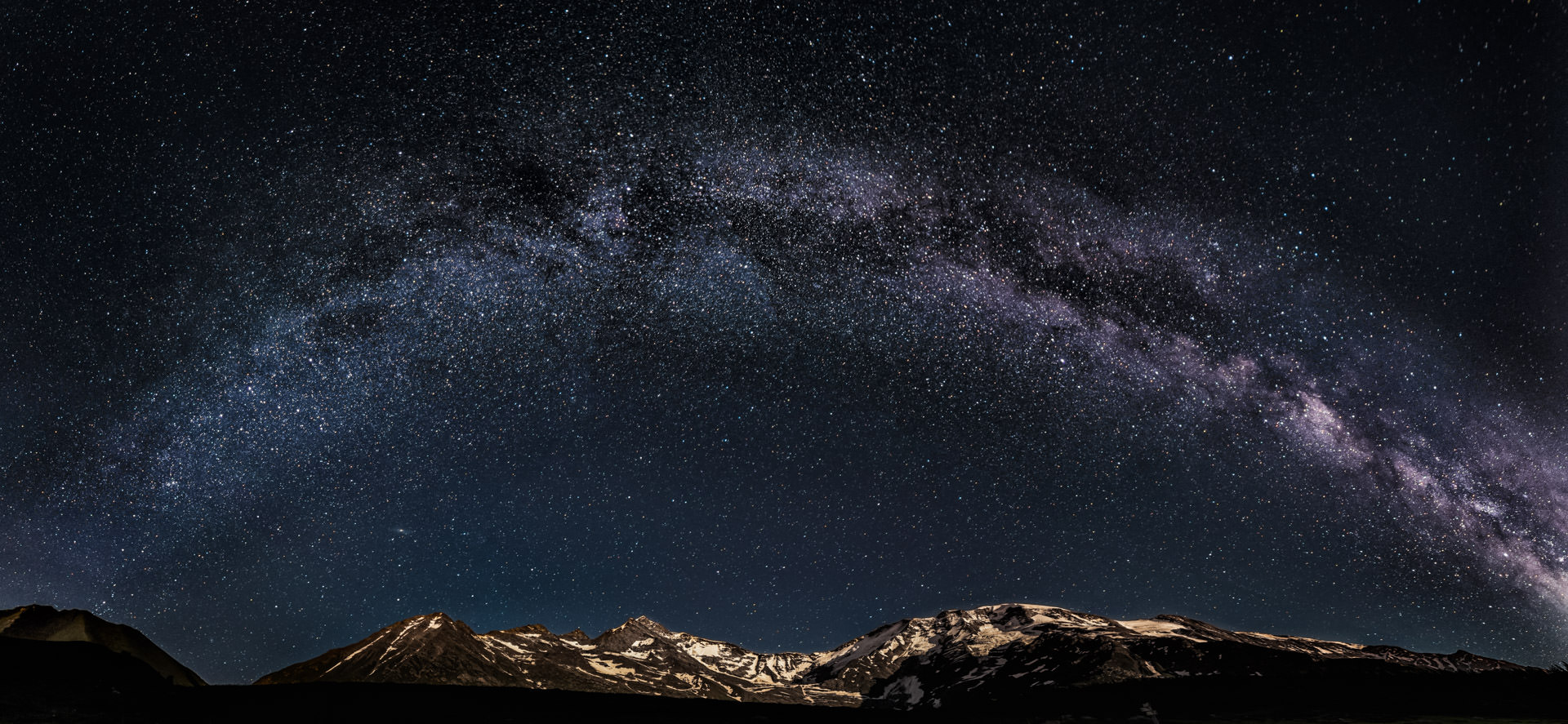 Milkyway at Mont Blanc - Astrophotography in France