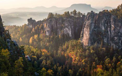 Saxon Switzerland National Park – Landscape Photography in Autumn